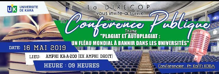 Conférence publique